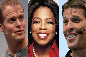 What would Tim Ferriss, Oprah Winfrey and Tony Robbins do?